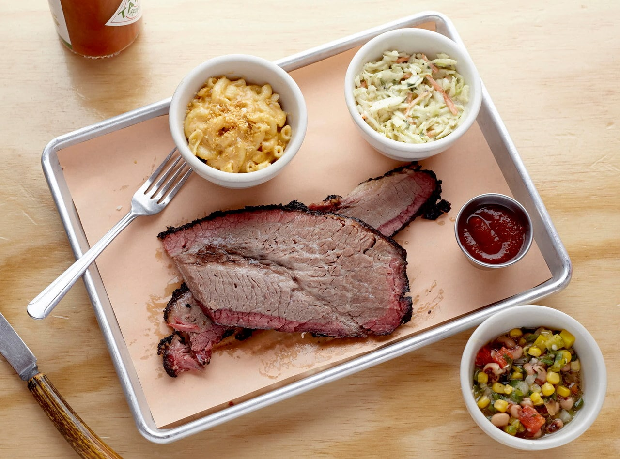Smoked Brisket Lunch by Chef Jack Timmons