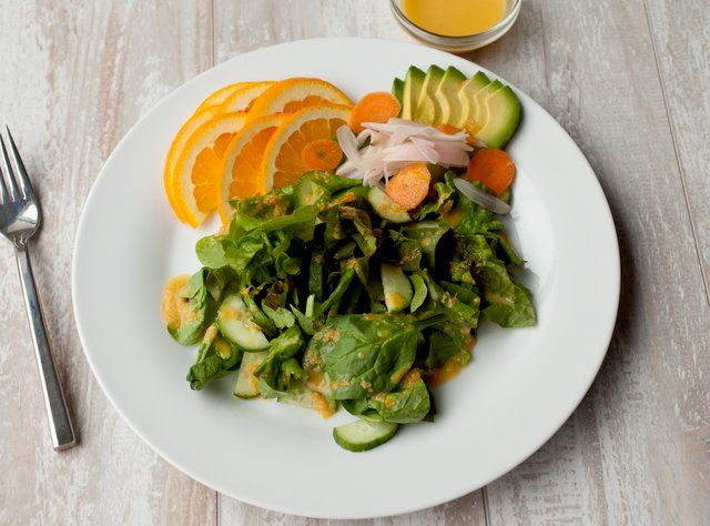 Side Orange-Ginger Salad by Chef Steve Shafer