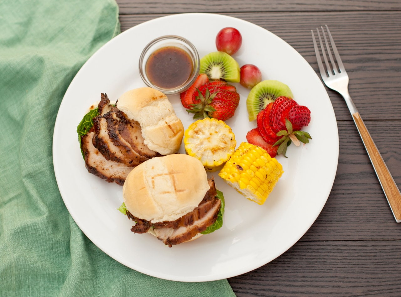 Jerk Chicken Sliders by Chef Jermain Andrew Blake