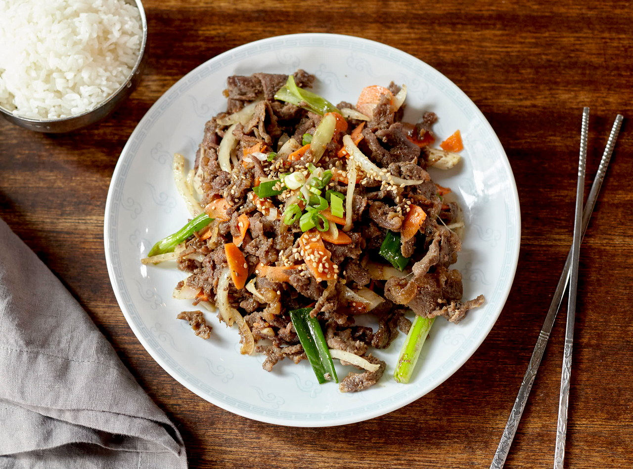 Beef Bulgogi by Chef James Park