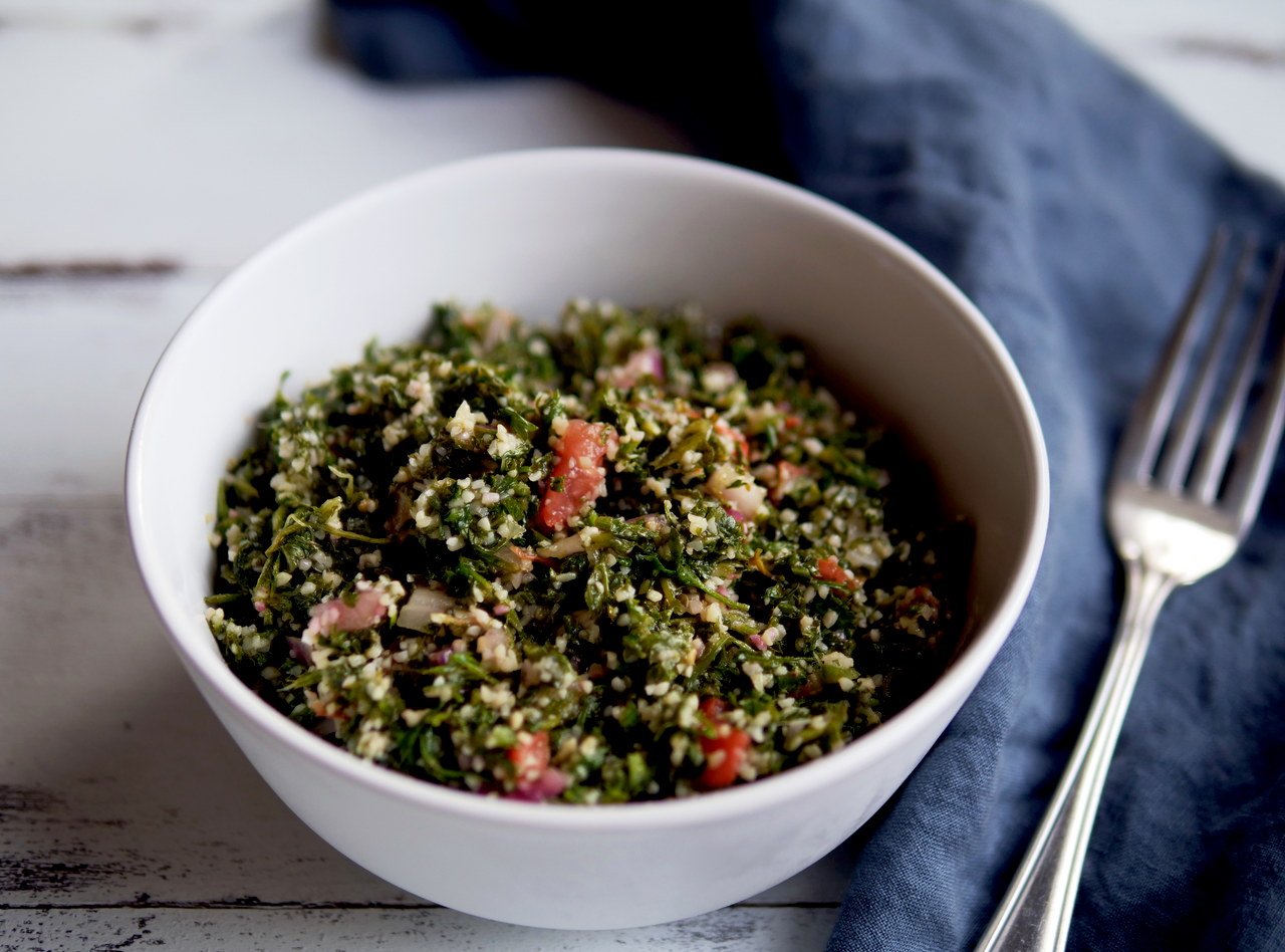 Tabbouleh Salad by Chef Jood Elasmar