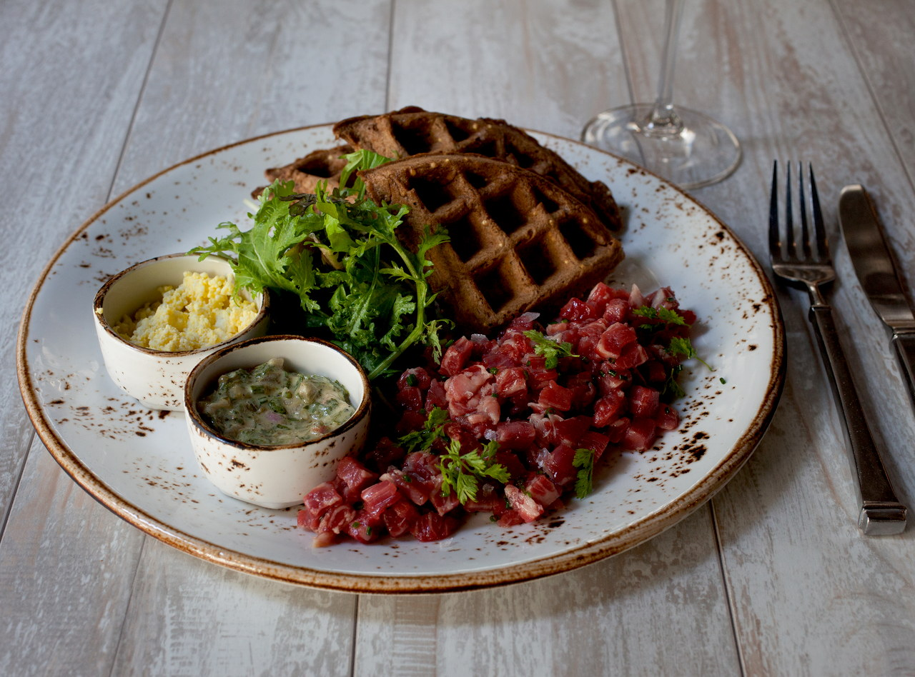 Steak Tartare by Chef Jason Wilson