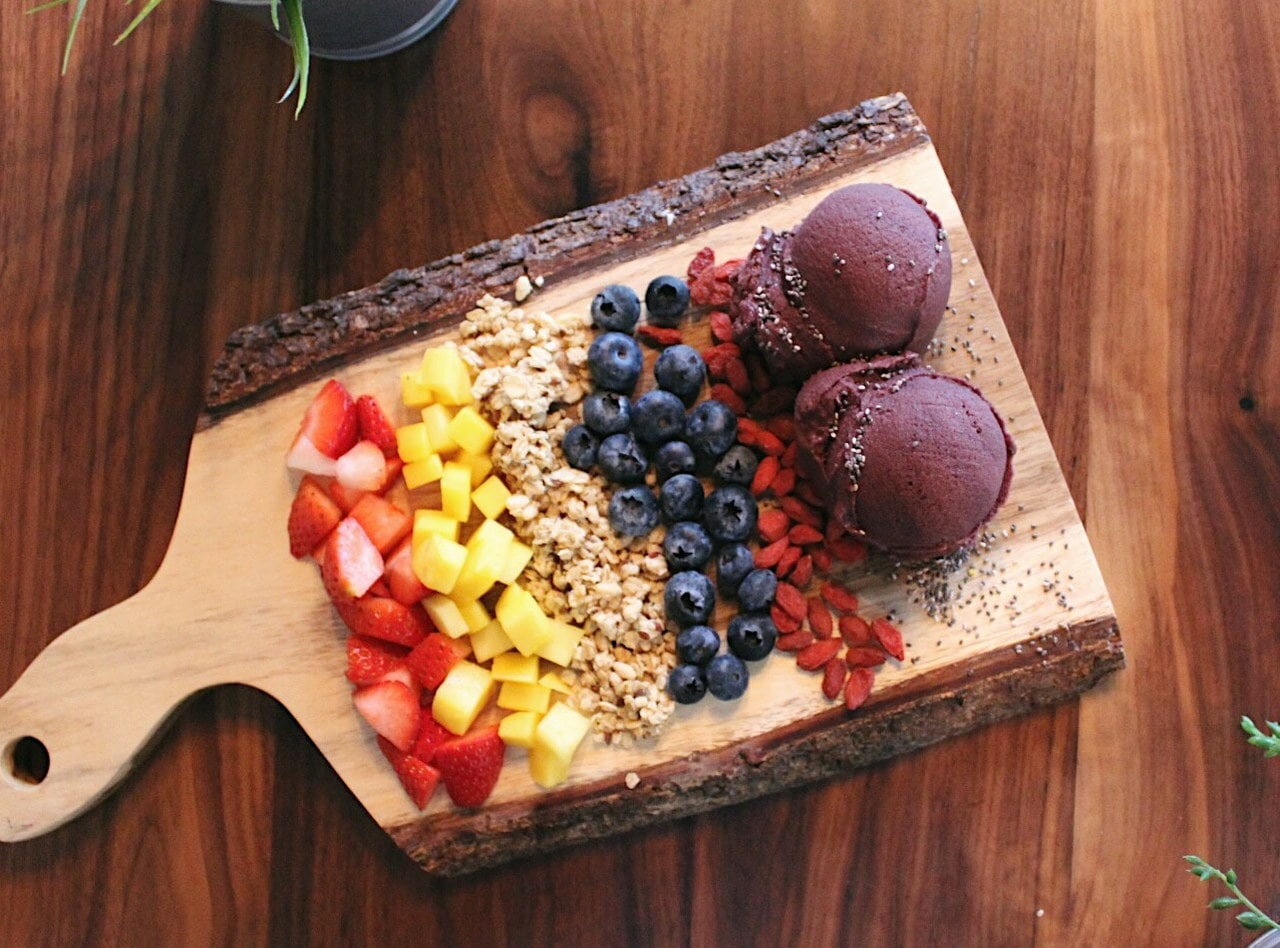 Build Your Own Acai Bowls (snack size) by Chef Scott Alderson