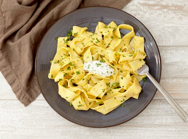 Pappardelle Butternut Squash Pasta by Chef Jasmin Bell