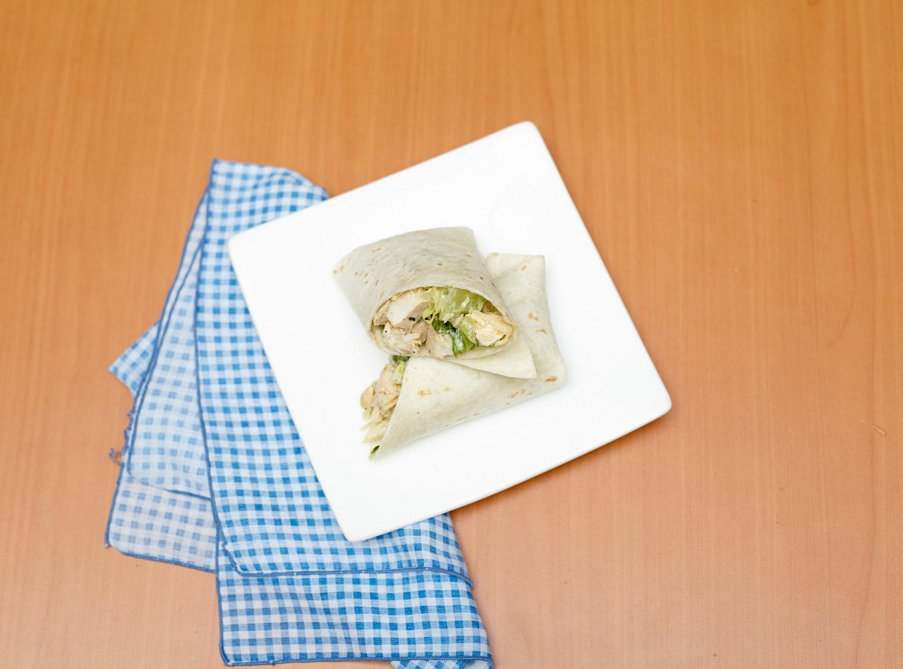 Chicken Caesar Wrap by Chef Jesse & Ripe Catering Team