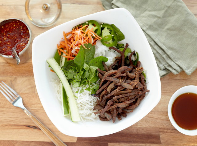 Steak Vermicelli Bowl by Chef John Tran