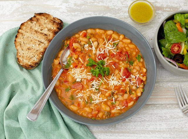 Tuscan White Bean Ragout by Chef Jasmin Bell