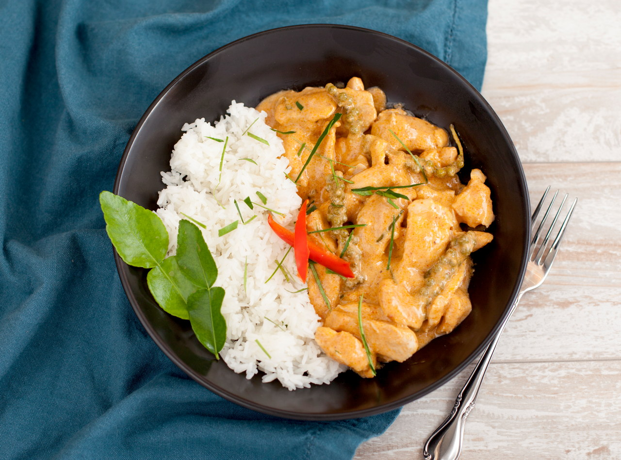 Pad Ped Chicken by Chef Tanya Jirapol