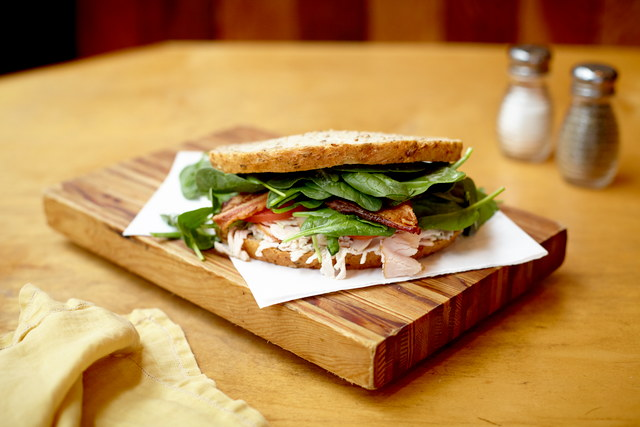 Californian Turkey and Bacon Sandwich by Derek Shankland