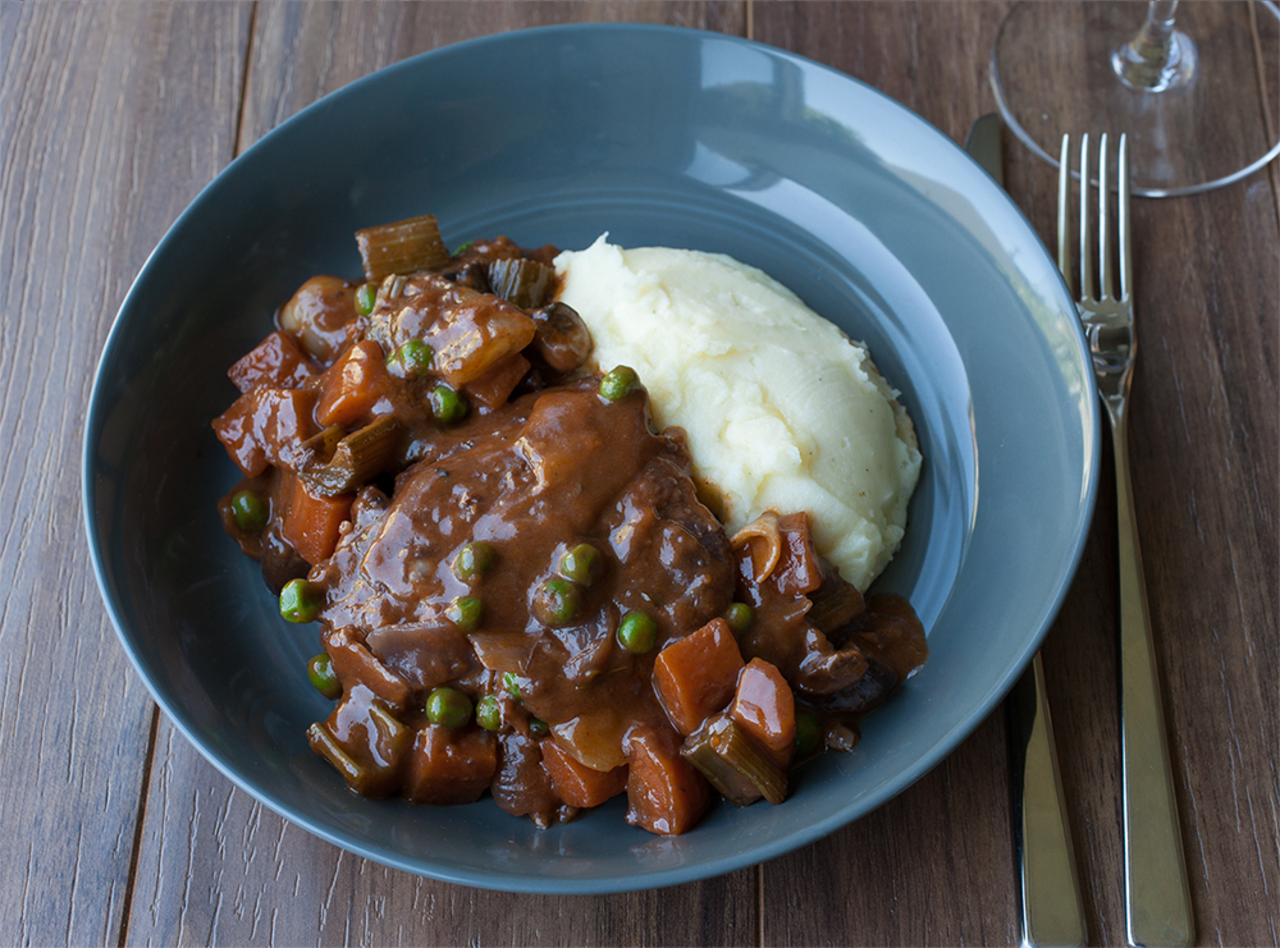 Coq au Vin with Mashed Potatoes by Chef Guru Sigdel