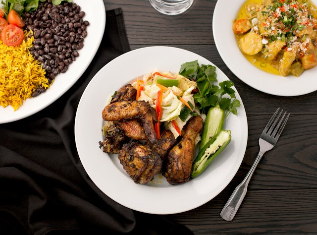 Jamaican Jerk Chicken Lunch by Chef Aaron Andrews