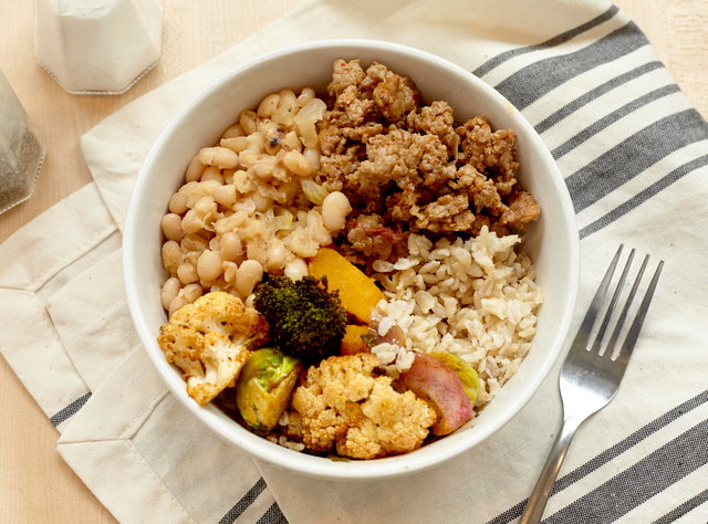 Carolina Bowl with Andouille Sausage by Chef Annie Koski-Karell