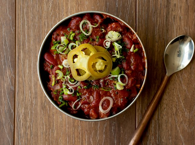 Kidney Bean Chili by Chef Aleks Dimitrijevic