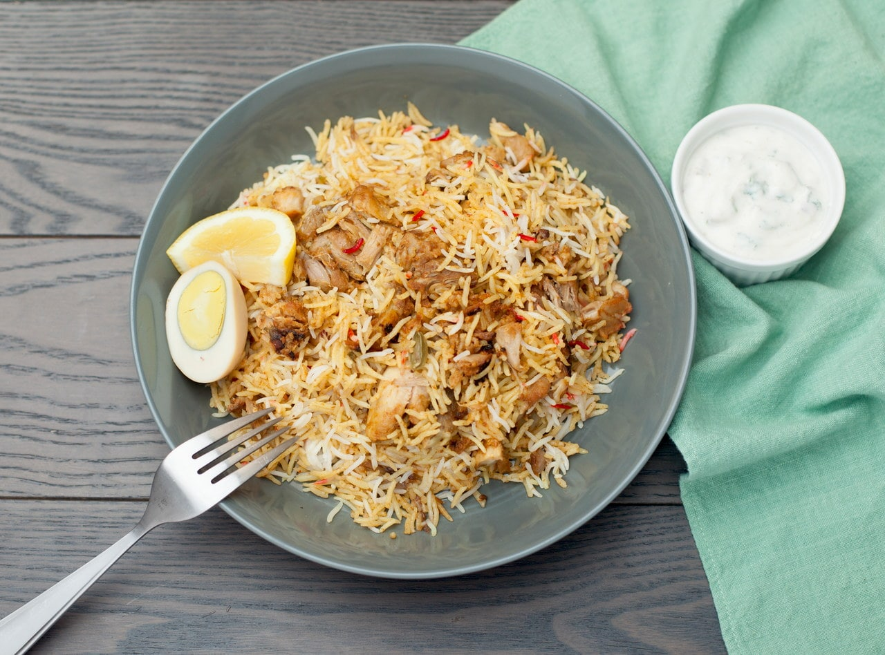 Chicken Biryani by Chef Nirjala Raut Pandit