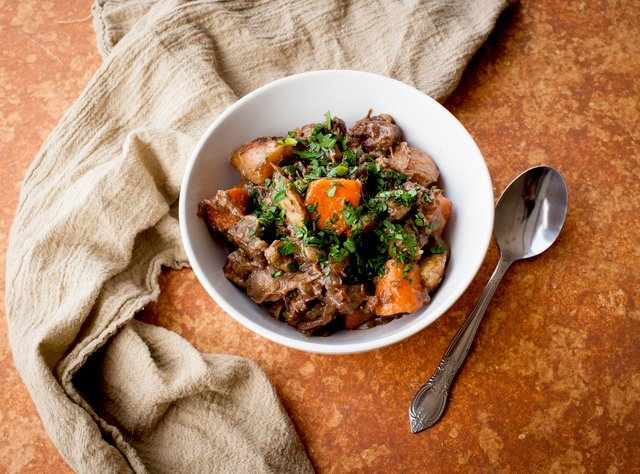 Slow-Cooked Guinness Beef Stew by Chef Larry Milner