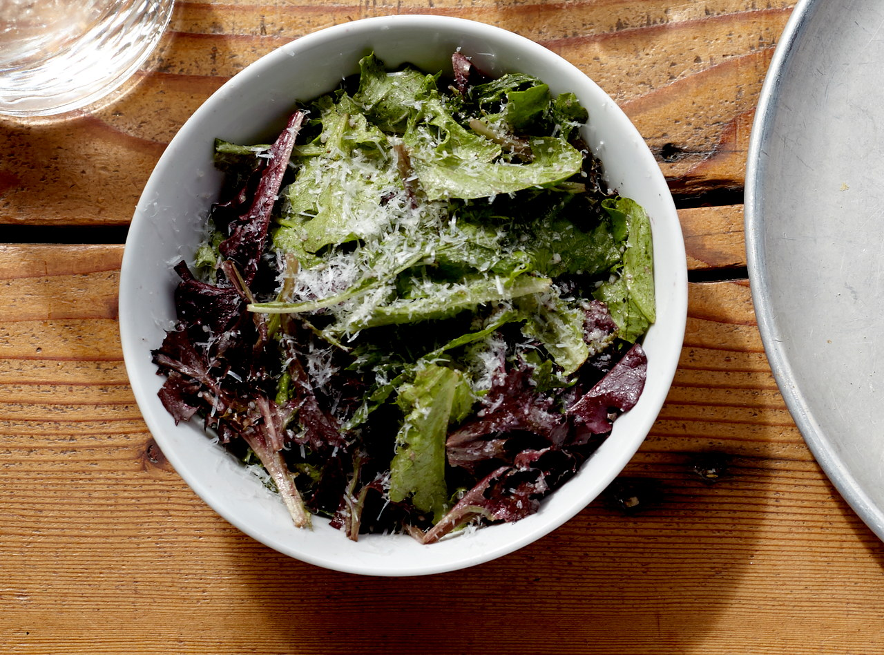 Garden Greens Salad with Red Wine Vinaigrette by Chef Ethan Stowell