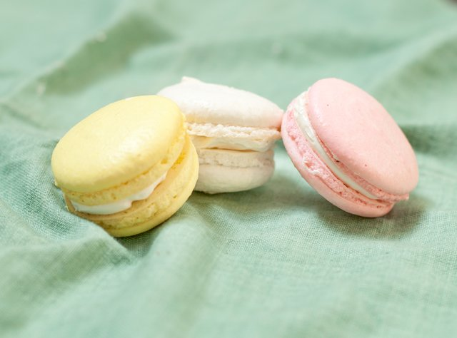 Spring Macaron Trio by Chef Jasmin Bell