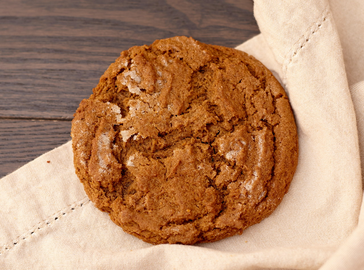 Mini Ginger Molasses Cookie by Macrina Bakery
