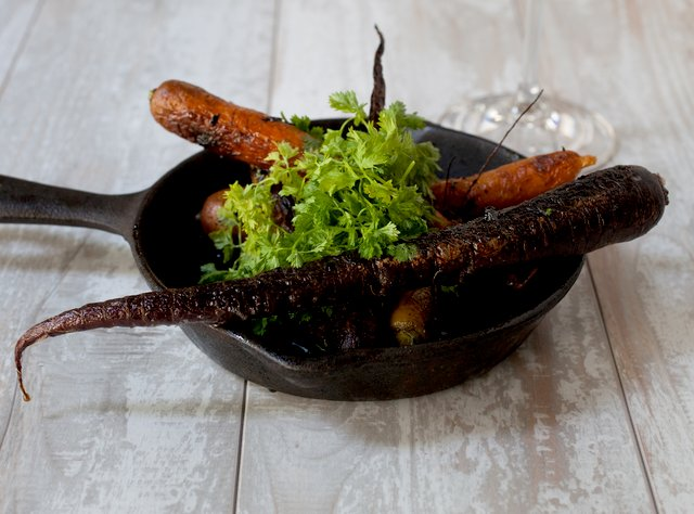 Roasted Carrots by Chef Jason Wilson