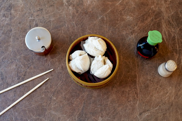 Steamed Chicken Buns by Chef Han Ma