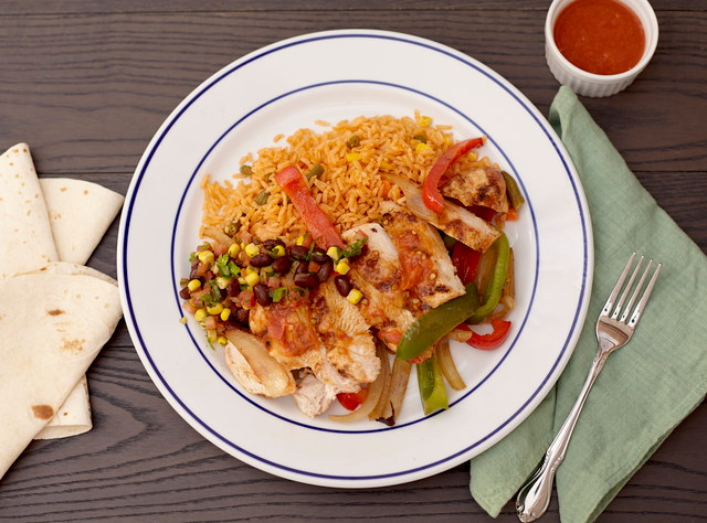 Chicken Fajitas Nortenas by Chefs Frankie & Edgar