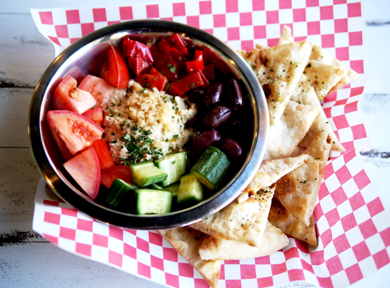 Hummus Platter by Chef Ethan Stowell (FS)