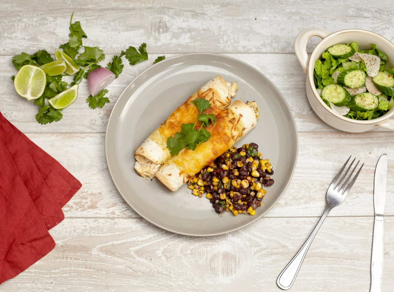 Tex Mex Chicken Enchilada by Chef Katie Cox