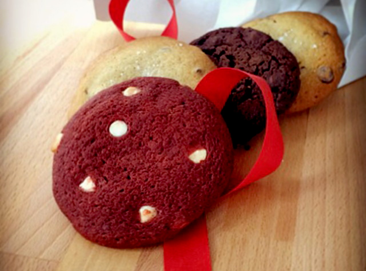 Valentine's Day Cookies 4-Pack  by Chef Keith Hubrath
