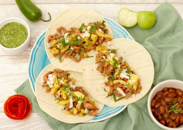 Tacos Al Pastor by Chefs Frankie & Edgar