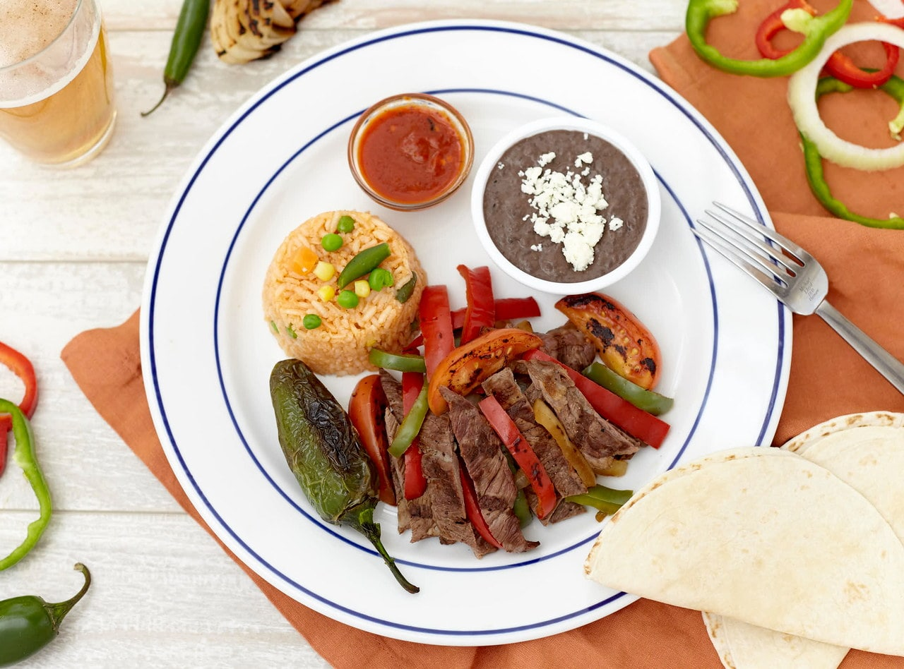 Steak Fajitas Nortenas by Chefs Frankie & Edgar