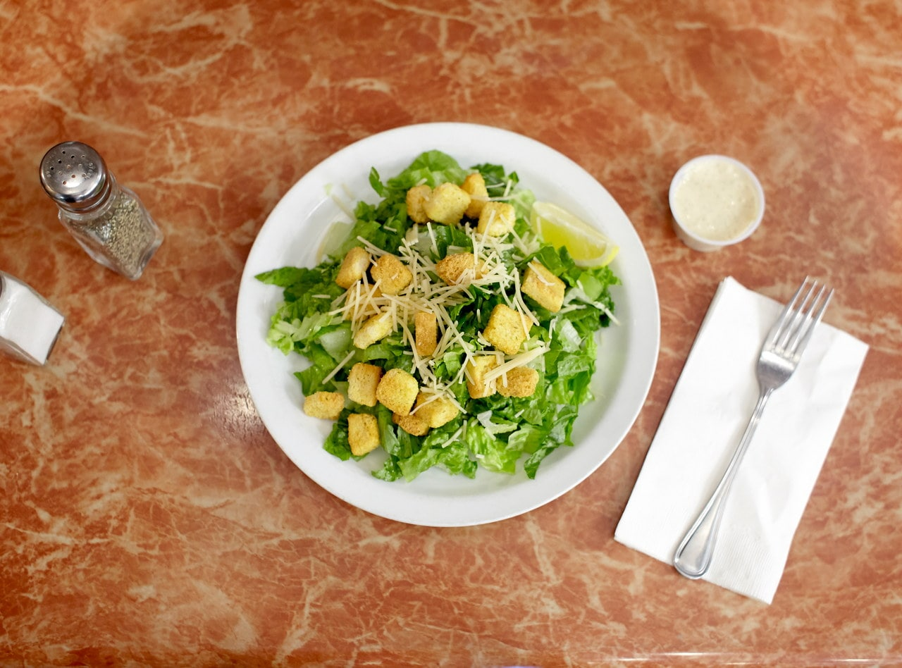 Caesar Salad by Chef Amir Razzaghi