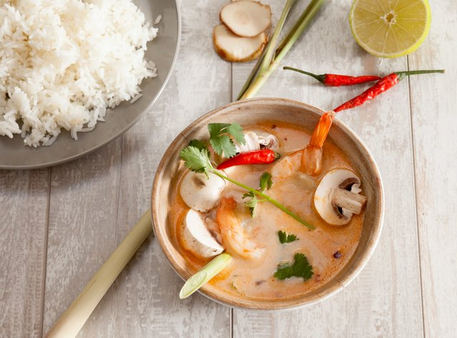 Tom Yum Soup by Chef Tanya Jirapol