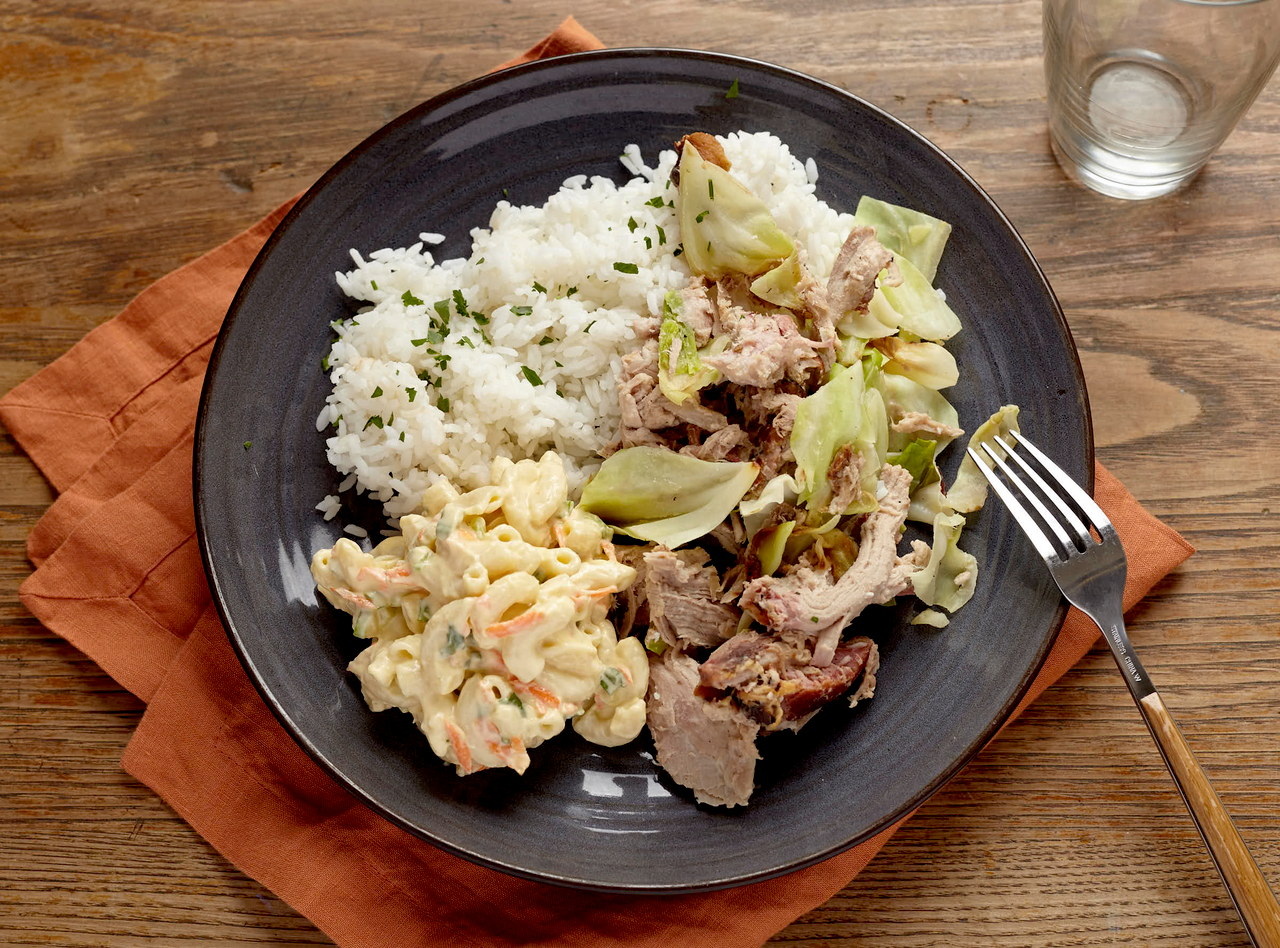 Hawaiian Kalua Chicken Boxed Lunch by Chef Jenn Strange