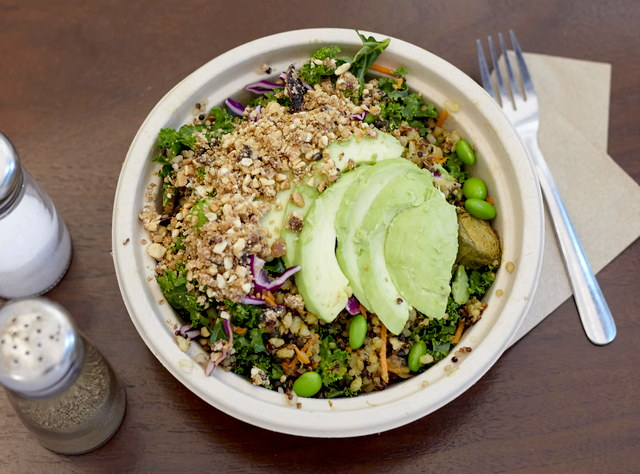 Buddha Bowl with Chicken by Sweetgrass