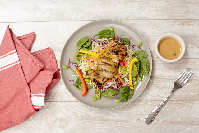 Sunset Salad with Chicken by Chef Tanya Jirapol
